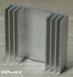 Hűtőborda, 44x40x12