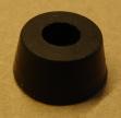 Gumi készülékláb, 15,5mm