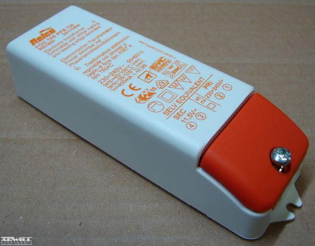 11,5V AC, 20-105W, transzformátor
