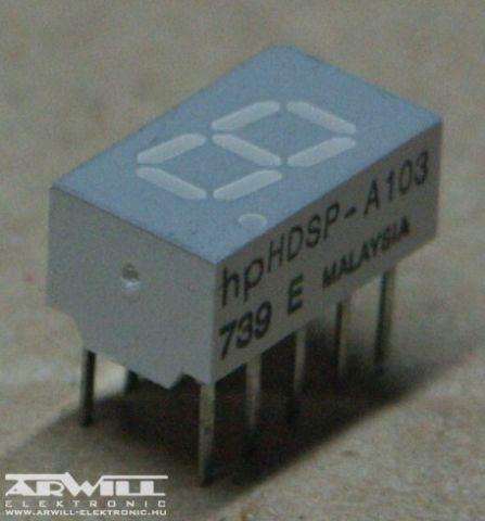 HDSP-A103, kijelző
