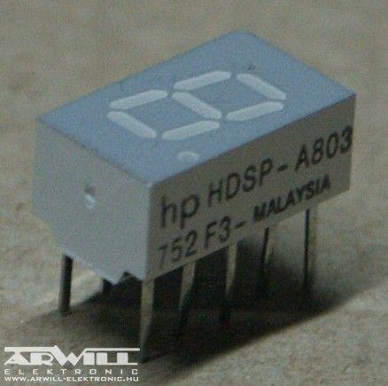 HDSP-A803, kijelző