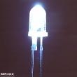 OSM54L-5111P, 5mm fehér led