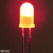 Piros led, 5mm