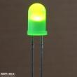 Zöld led, 5mm