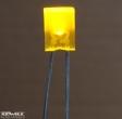 LL254-YD1E, 2x5mm sárga led