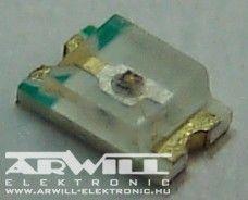 SMD2012G, 0805, smd zöld led