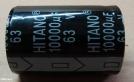 10000uF, 63V, elektrolit kondenzátor