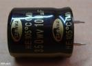 100uF, 350V, elektrolit kondenzátor
