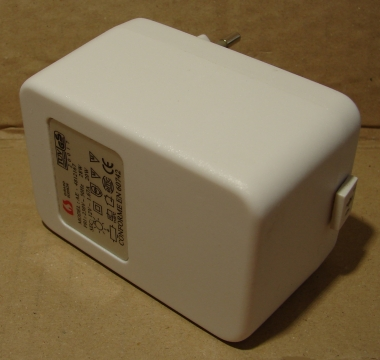 12V, 1,6A AC adapter