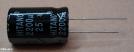 2200uF, 25V, elektrolit kondenzátor