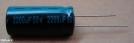 2200uF, 50V, elektrolit kondenzátor