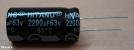 2200uF, 63V, elektrolit kondenzátor
