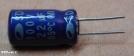 22uF, 100V, elektrolit kondenzátor