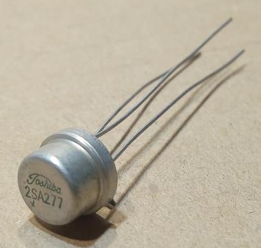 2SA277, tranzisztor