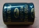 4700uF, 63V, elektrolit kondenzátor