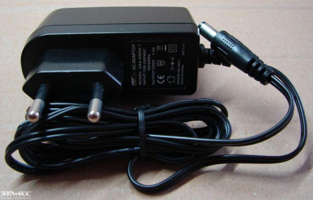 5V, 1,5A, adapter