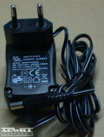 9V, 0,8A, adapter