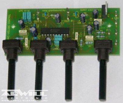 GTC-4M, hangszínszabályzó modul