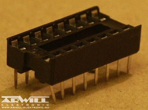 IC foglalat, DIP-16
