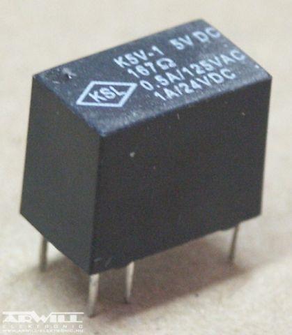 K5V-1 relé, 5V, 1A