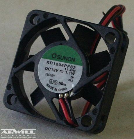 KD1204PFS2, ventilátor