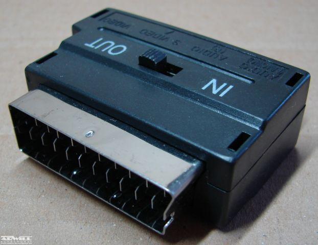 Scart/RCA S-video átalakító