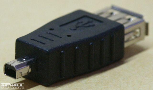 USB A/A mini átalakító