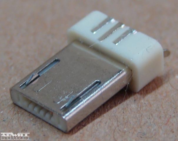 USB A micro 5 pólusú dugó