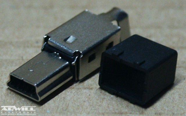 USB B mini 5 pólusú dugó