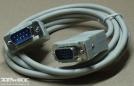 VGA, 9p./15p. apa-apa kábel, 1,5M