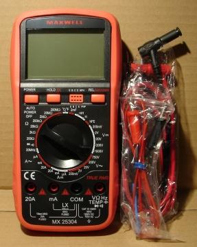 MX-25304, multiméter