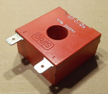 SIRIO 50/005, áramváltó