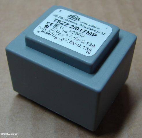 2VA, 2x7,5V, transzformátor