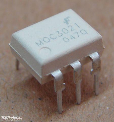 MOC3021, optocsatoló