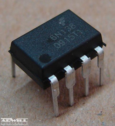 6N138, optocsatoló