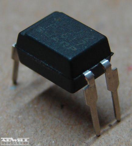 PC817 = LTV817, K817, optocsatoló