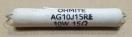 15R, ellenállás AG-10 10W 5%