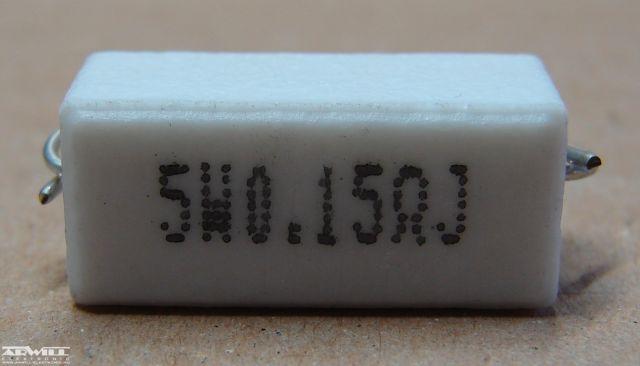 0,15R, ellenállás