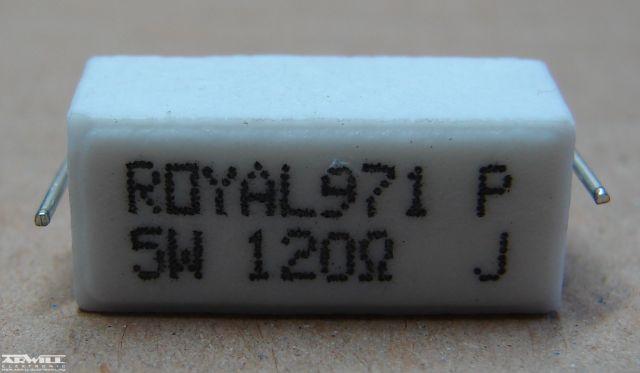 120R, ellenállás