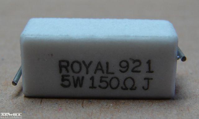 150R, ellenállás