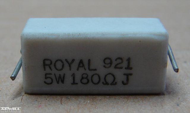 180R, ellenállás