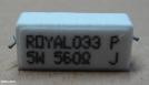 560R, ellenállás