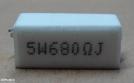 680R, ellenállás
