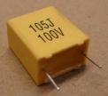 1uF, 100V kondenzátor