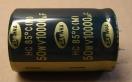 10000uF, 50V, elektrolit kondenzátor
