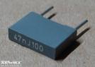 47nF, 100V, kondenzátor