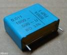 11nF, 1600V, kondenzátor