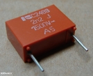 2,2nF, 1500V, kondenzátor