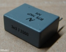 3,3nF, 2000V, kondenzátor