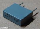 47nF, 250V, kondenzátor